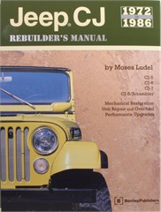 Jeep CJ Rebuilder's Manual 1972 to 1986