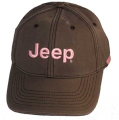 Women's Jeep� Cap (Pink on Brown)