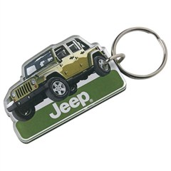 Jeep Wrangler Unlimited JK Keychain