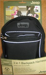 Jeep 3 in 1 Child Backpack Harness