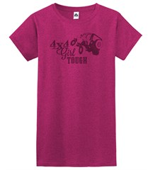 4x4 Girl Tough Junior's Fit T-Shirt