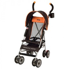 Jeep All-Weather Umbrella Stroller - Vibe Orange (by Kolcraft)