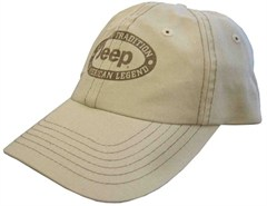 "Jeep ""The American Legend"" Hat in Khaki"