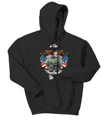 American Traditional Tattoo Adult Hooded Sweatshirt