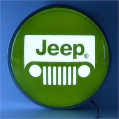 """Jeep Grille Logo 15"""" Backlit LED Lighted Sign"""