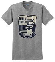 Jeep Badge Men's T-Shirt in Grey