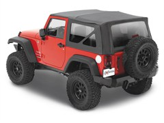 Bestop Supertop NX Complete Soft Top Kit for 2 Door JK 2007-2014 Black Diamond