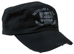 Jeep Grille  Black Cadet Hat