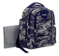 Jeep Camo Back Pack Diaper Bag