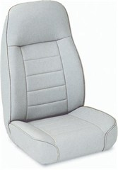 Front Seat Standard Bucket, Jeep CJ & Wrangler- Denim Gray