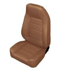 Front Seat - Standard Bucket, Jeep CJ & Wrangler - Denim Spice