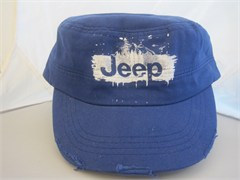 Jeep Paint Splatter Cadet Hat, Blue