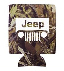 Jeep Camo Neoprene Koozie