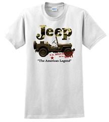 Jeep� Camo Tee (white)