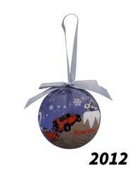 Vintage All Things Jeep 2012 Holiday Ornament
