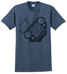 Jeep CJ Front Silhouette Men's Tee