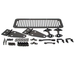 Complete Hood Kit,  Jeep CJ & Wrangler YJ (1976-1995) - Black