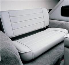 Rear Seat Fold & Tumble for Jeep Wrangler TJ, LJ - Denim Gray