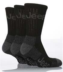Jeep Core Terrain Boot Men's Socks - (3-pack)