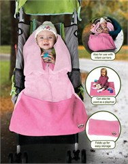 Jeep 3 in 1 Universal Cozy Infant Carrier & Stroller Blanket