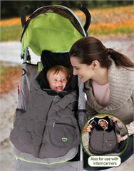 Jeep 2 in 1 Universal Cozy Infant Carrier & Stroller Footmuff