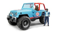 Jeep Cross Country Racer with Driver in Blue