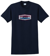 Jeep� Dependable Power T-Shirt (Navy Short Sleeve)