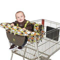 Jeep Dual Purpose Shopping Cart & High Chair Cover