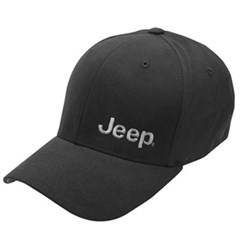 Jeep Embroidered Hat in Black