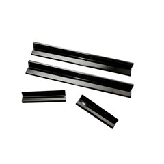 Entry Guard Set,  4 Piece, Jeep JK (2007-2014), Black