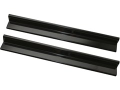 Door Entry Guard Pair Wrangler JK 2D 2007-2017 Black Rugged Ridge