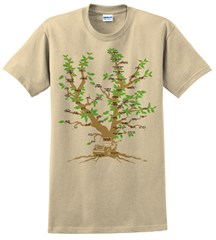 Family Tree Men'sT-Shirt, by All Things Jeep