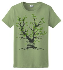 Family Tree Women's T-Shirt, by All Things Jeep