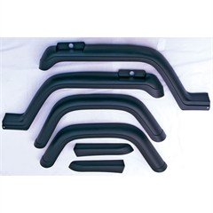 6 Piece Fender Flare Kit for Jeep Wrangler YJ (1987-1995)