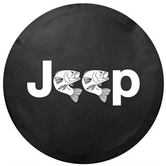 Jeep Fishing Tire Cover