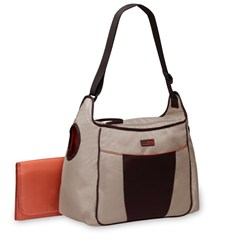 Jeep Flap Front Diaper Bag- Khaki