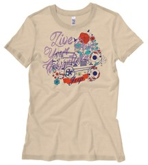 Jeep Flower Power Young Women's T-Shirt
