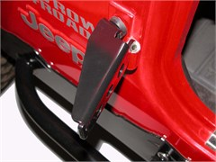 Jeep Foot Pegs for your Doorless Jeep, Ultra JeePegs