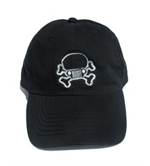 Jeep Skull & Crossbones Hat/Cap-Youth, Black