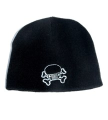 Jeep Skull & Crossbones Beanie, Black