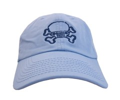 JPFreek Skull and Bones Cap � Baby Blue