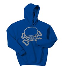 JPFreek Skull and Crossbones Youth Hoodie