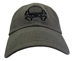 JPFreek Skull and Bones Cap  Olive