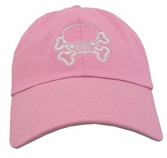 JPFreek Skull and Bones Cap - Pink