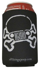 JPFreek Skull Koozie Set of 2