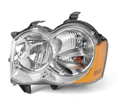 Left Headlight w/o fog lights- Jeep Grand Cherokee WK 2005-2010