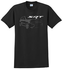 Grand Cherokee SRT w/ Graphic Men's T-Shirt