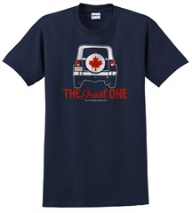 The Great One Men's T-Shirt, Navy