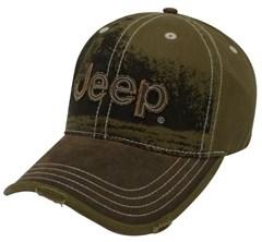 Jeep Heavy Stone Wash Cap