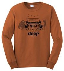 Can't Hunt Deer In a Minivan Long Sleeve T-Shirt